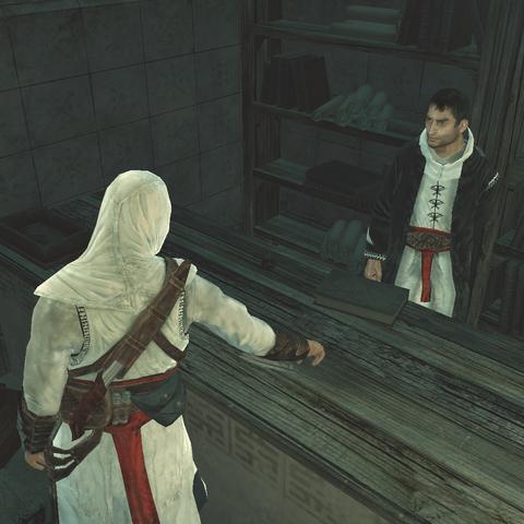 Altaïr ontvangt de <a href=