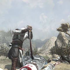 Altaïr doodt een <a href=