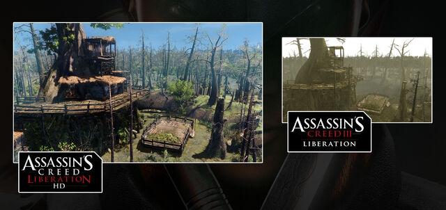 File:Agaté's Hut - Comparison Screenshots.jpg
