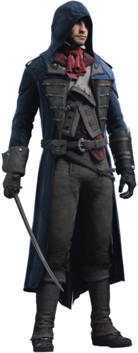 "Arno w <a href=""/wiki/Assassin%27s_Creed:_Unity"" title=""Assassin's Creed: Unity"">Assassin's Creed: Unity</a>"