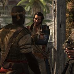 在海盜們中間的霍尼戈爾德