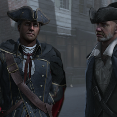 Haytham in Boston.