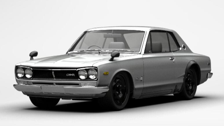 Nissan Skyline Hardtop 2000 GT-R