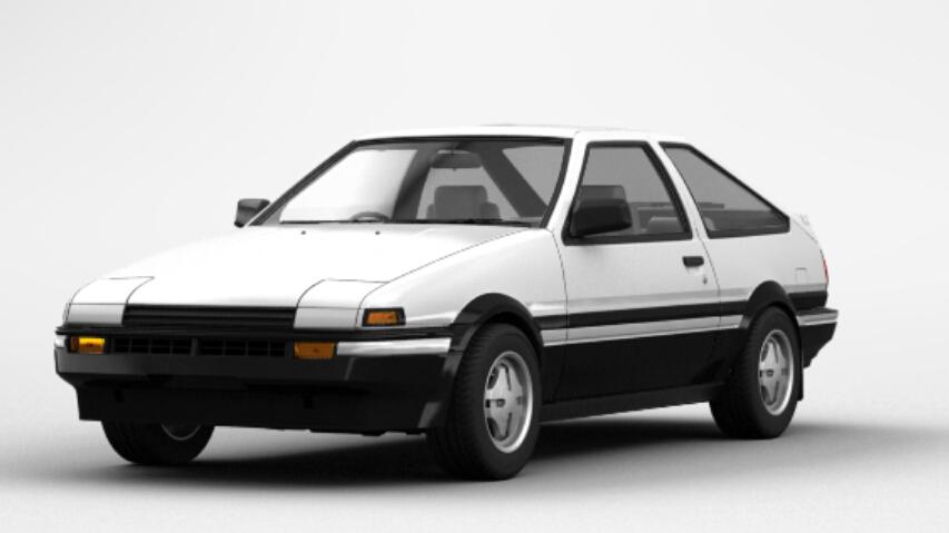 Toyota Sprinter Trueno GT-APEX (AE86)