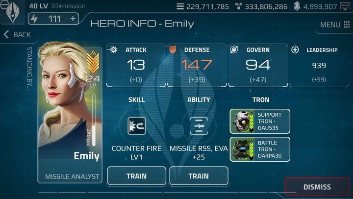 Hero-Status