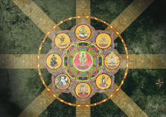 Tapestry of the Eight Guardian Generals
