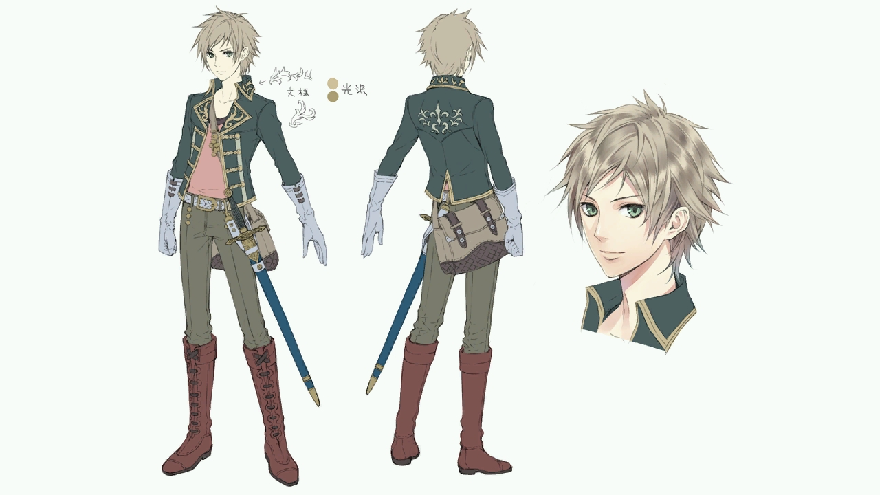 Good Character Design In Anime : Image a concept gino g atelier wiki fandom