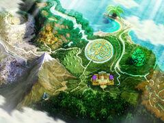 Atelier Lise World Map