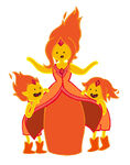 Flame princess and flame princes by kickmeplease-d5i3rkz