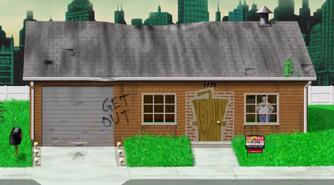 Aqua Teen house