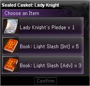 Sealed Casket Lady Knight