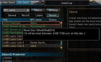 QuestsNonDailyResetGheraPrankster