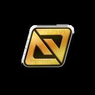 Alpha Gold-Emblem