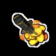 Missile Trail-Emblem
