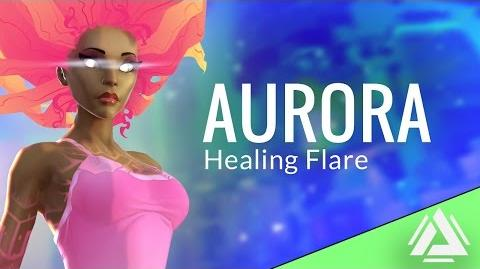 Aurora - Healing Flare - Ability Atlas Reactor