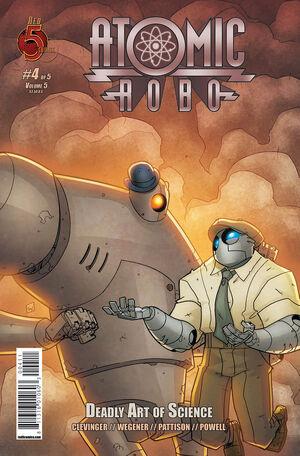 Atomic Robo 5 4