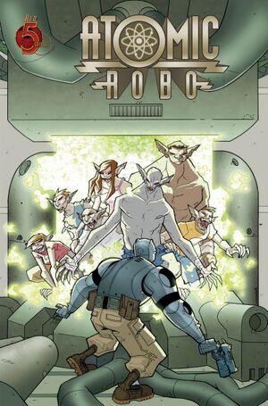 Atomic Robo 4 1