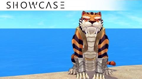 Showcase Aura Kingdom Eidolons - Tigerius Caesar's Combo (Mounting) Skill