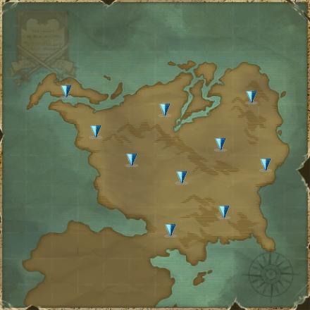 Map North Midgard