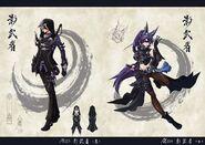Shuriken Summons Concept Art