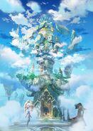 Sky Tower-Illustration