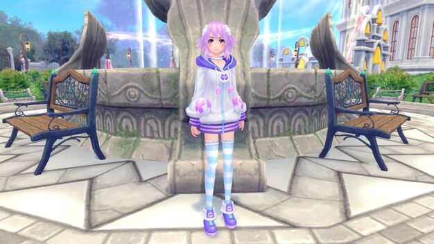 Neptunia Costume