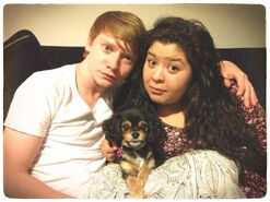 Pixie calum and Raini