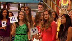 PandP; Brooke bids against a random girl