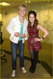 Ross Lynch and Laura Marano - Sirius XM (4)