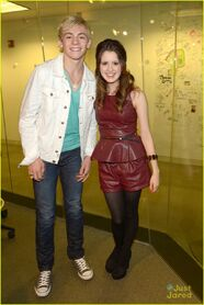 Ross Lynch and Laura Marano - Sirius XM (3)