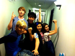 Ross, Calum, Matt, Laura and Raini