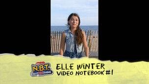 Elle Winter Video Notebook