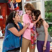 Trish, Ally and Ally's Mom; Hugs