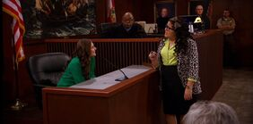 Trish calls Brooke to the witness stand