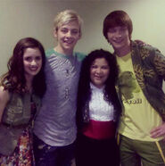 Laura, Ross, Raini and Calum