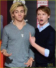 Ross Lynch and Calum Worth Big Hero 6 Premiere- 08