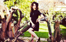 Laura Marano; Nationalist Magazine March 2013; Black Dress