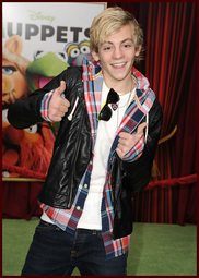 Ross Lynch at 2011 Muppet Movie