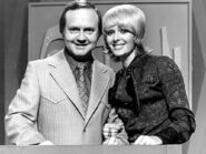 Lionel Williams and Joan McInnes on channel sevens version of Concentration in 1970s