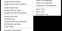 Grading and Drainage Designer (AutoLISP application)