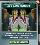 Add gang members