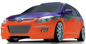Hyundai Elantra SEMA 07 002