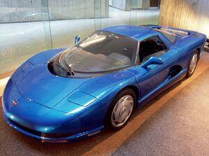 1990 Chevrolet Corvette CERV III Concept 01