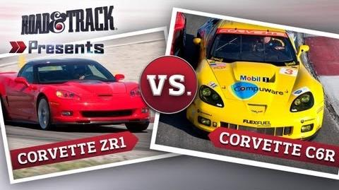 2010 Chevrolet Corvette ZR1 vs. Pratt & Miller Corvette C6.R