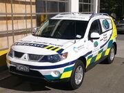 Wellington Free Ambulance Patient Transfer Car 461, Mitsubishi Outlander