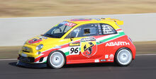 Fiat Abarth 500 race