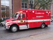 Columbus Fire Medic 7