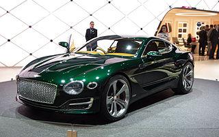 2015 Bentley EXP 10 Speed 6 concept car at Motorshow Geneva