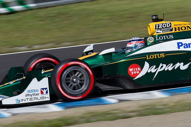 File:Takuma Sato 2011 Indy Japan 300 warm-up.jpg
