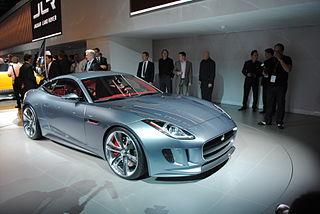 The Jaguar C-X16 at the Frankfurt Motor Show 2011